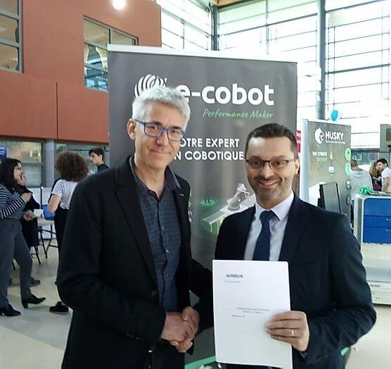E-COBOT-AIRBUS-signature-convention-partenariat