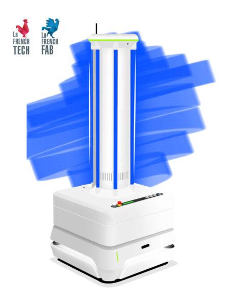 HUSKY-UV-robot-cobot-mobile-desinfection-UV-C-covid-19-coronavirus