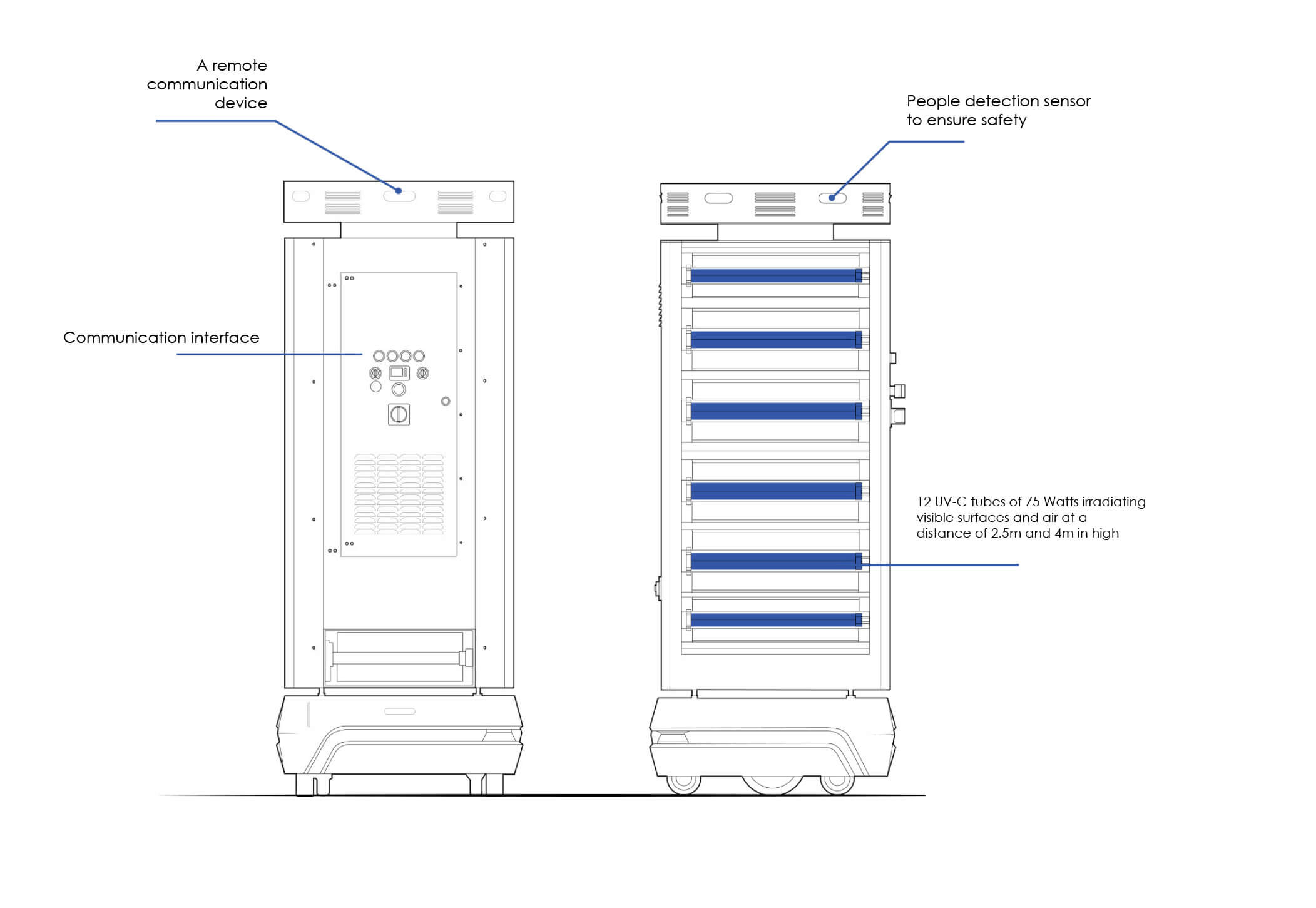 HUSKY-UV-robot-mobile-disinfection-uv-C