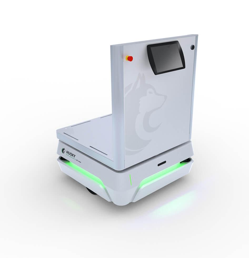 robot-mobile-pupitre-technologie-husky-e-cobot