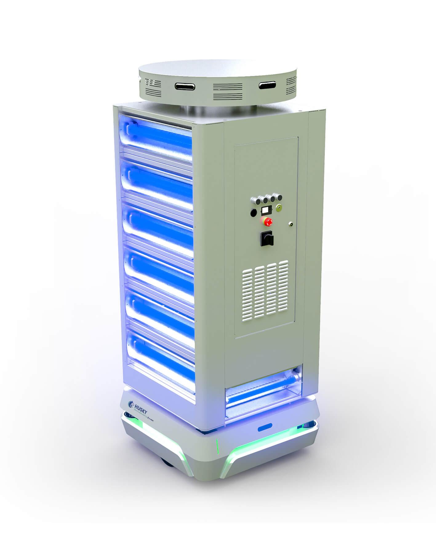 HUSKY-UV-robot-mobile-desinfection-uv-c-autonome